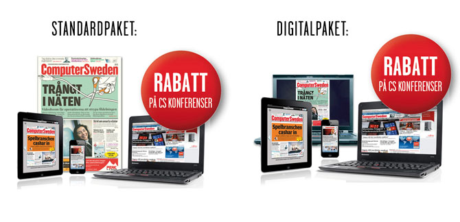 Standardpaket och Digitalpaket