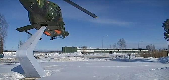Helikopterhangar blir datahall i boden computer sweden for Boden desktop