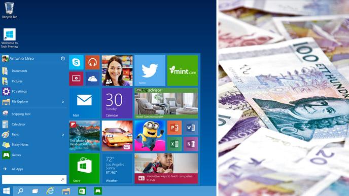 gratis uppgradering till windows 10
