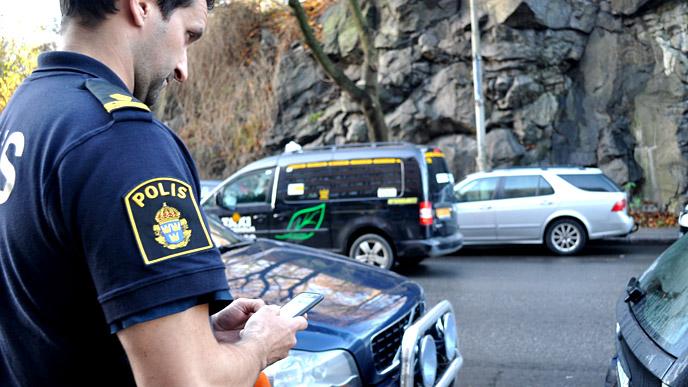 Polis mobil