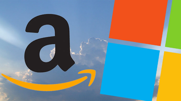 Amazon Microsoft